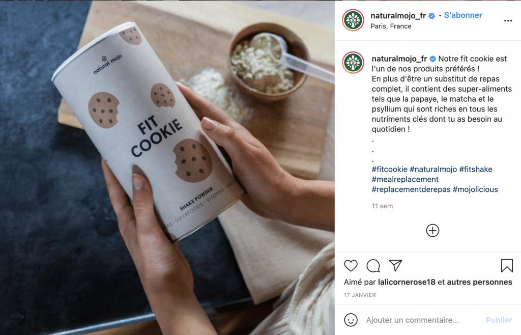 Quel lait avec Natural mojo ?