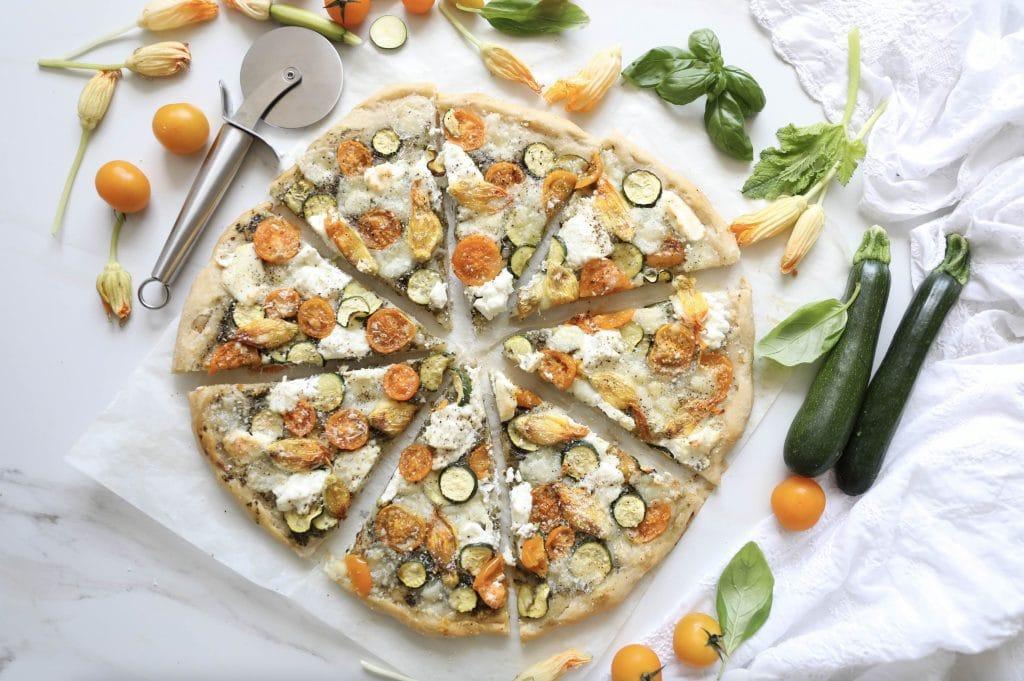pizza chèvre enceinte
